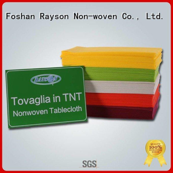 Hot non woven cloth 45gram non woven tablecloth 70 rayson nonwoven,ruixin,enviro