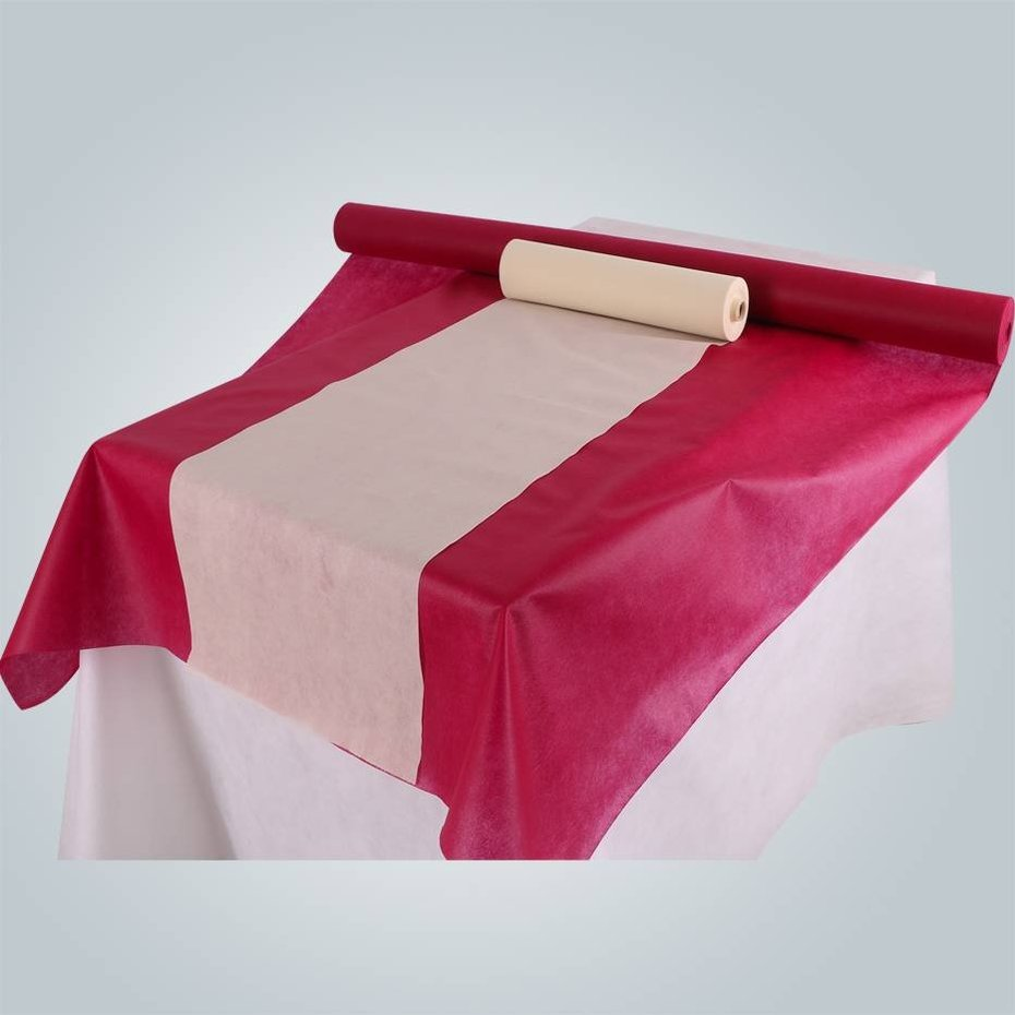 The guide of PP nonwoven geotextile China factory made banquet use table cloth