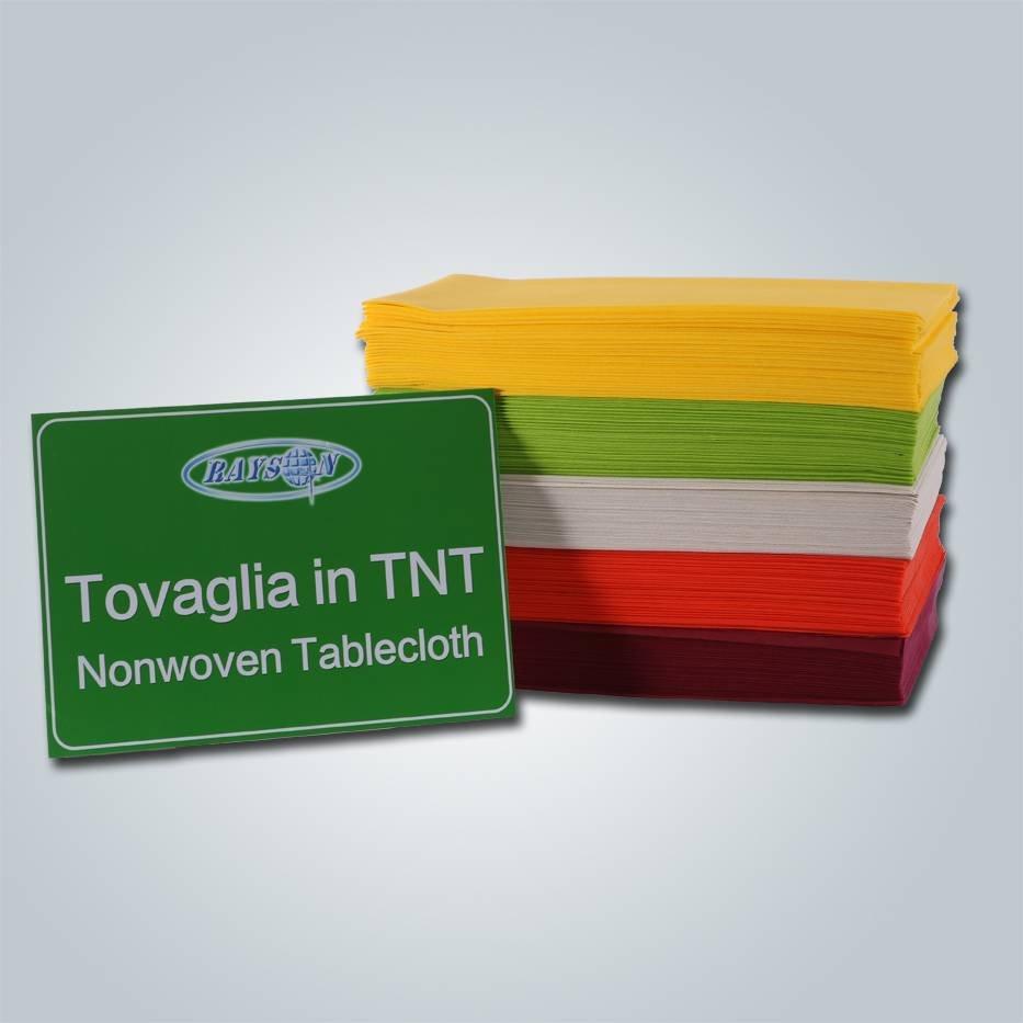 Benutzerdefinierte Größe pp Vlies Tischdecke / gefaltet Tischdecken