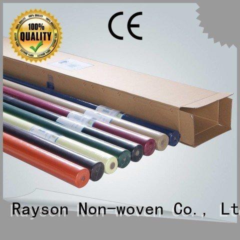 rayson nonwoven,ruixin,enviro eco packaging non woven tablecloth 45 dualpurpose