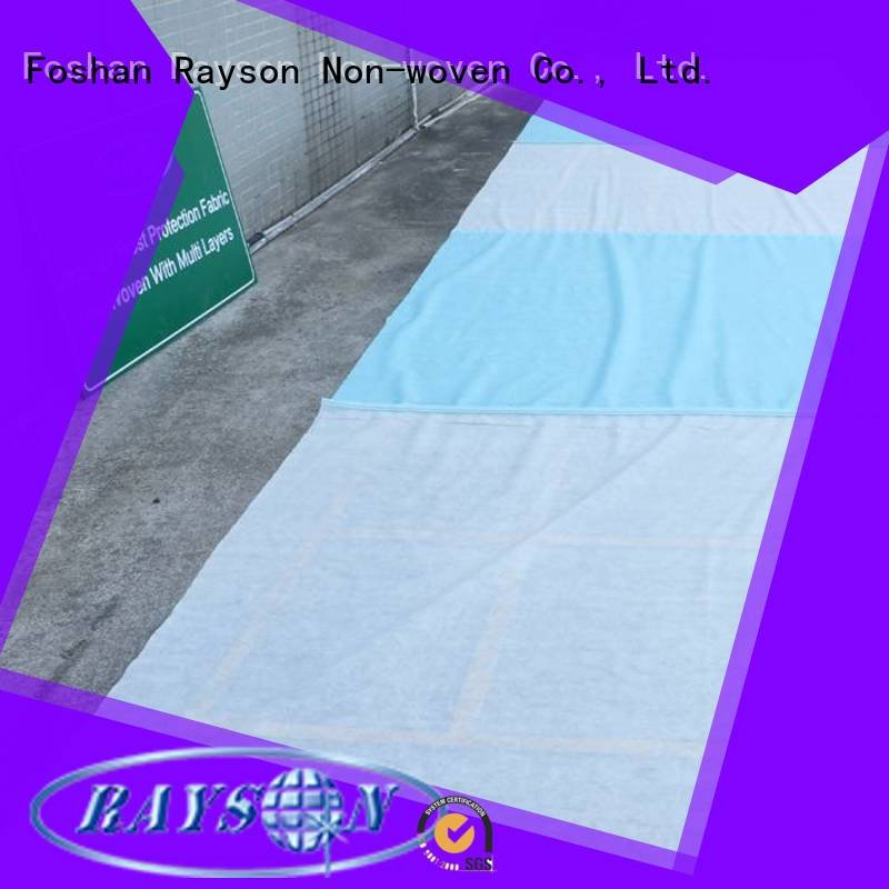 crop low new row rayson nonwoven,ruixin,enviro biodegradable landscape fabric