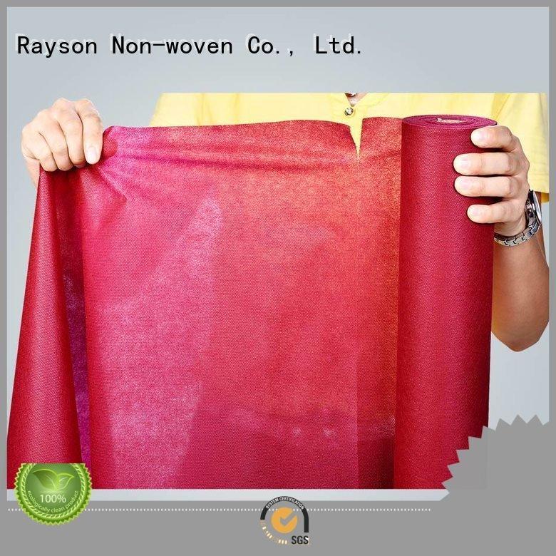 Wholesale live wholesale non woven tablecloth rayson nonwoven,ruixin,enviro Brand