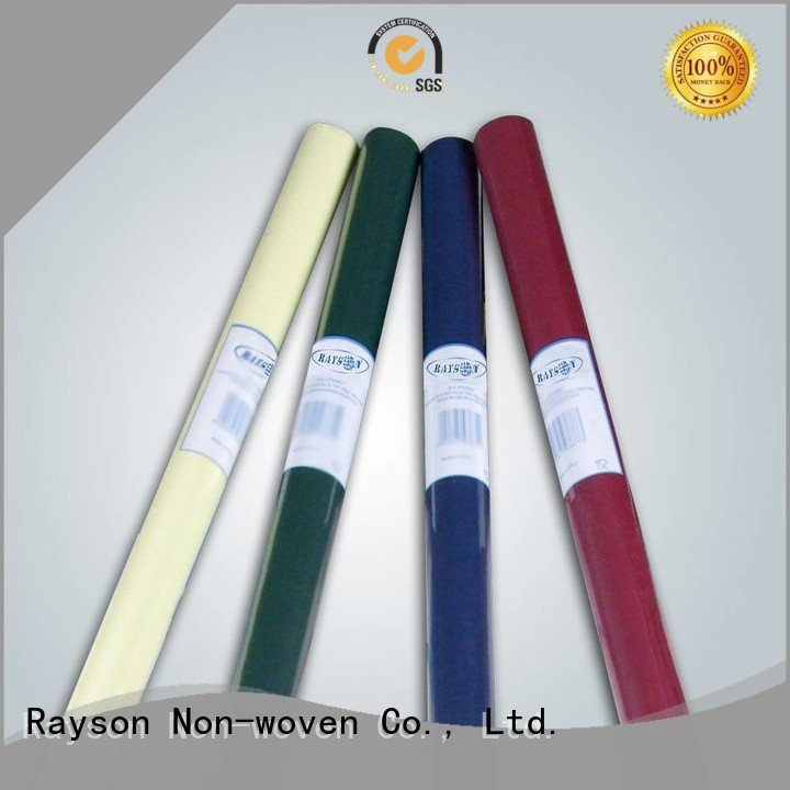 OEM non woven cloth runners efficient overseas non woven tablecloth