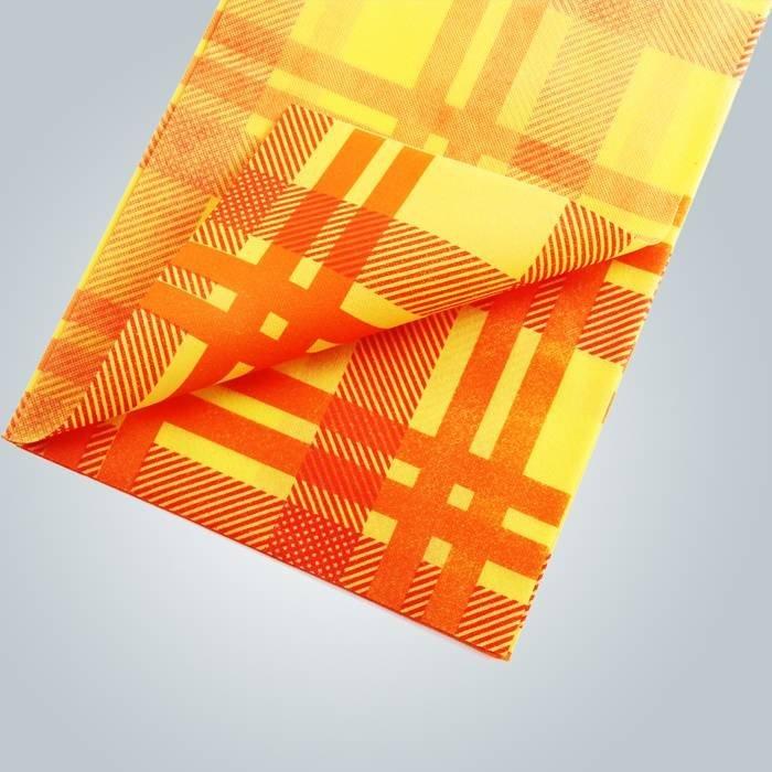 비 인쇄 살 균 원단 테이블 보 식탁보 45gsm 50gsm 70gsm 짠