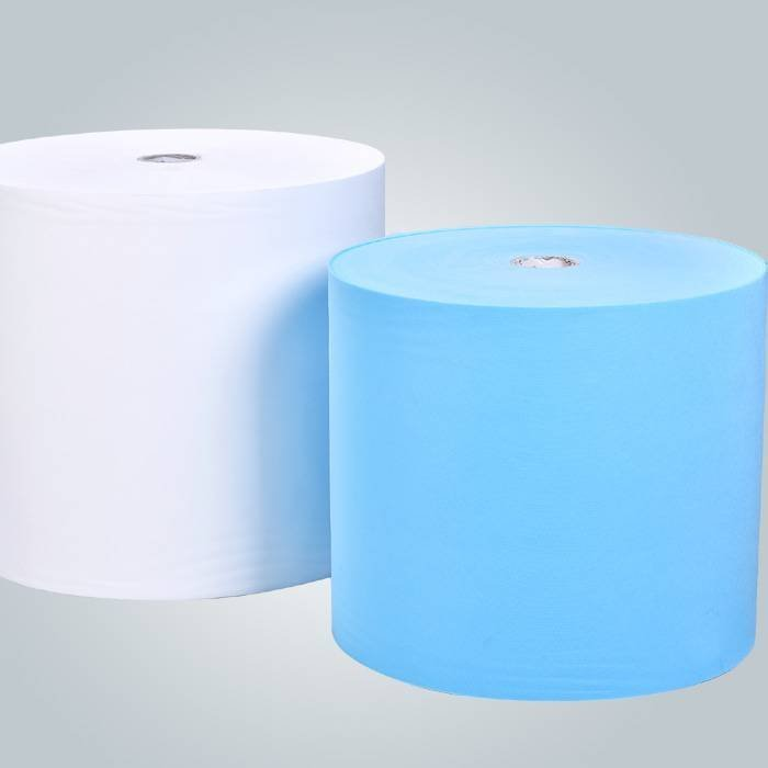 Blue and white 20g non woven fabric