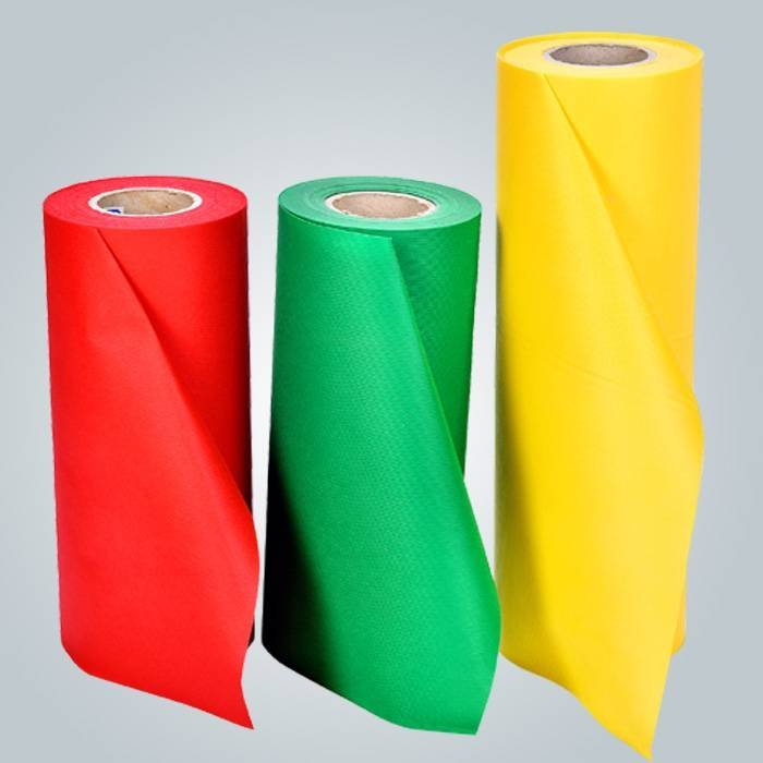 Blue / Beige / Green Polypropylene Non Woven Cloth Spunbonded For Packing Material