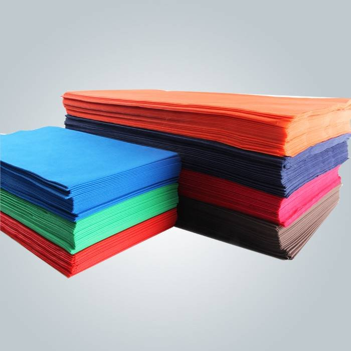 1 m * 1 m 100% polipropylenowych Spunbond Non Woven obrus