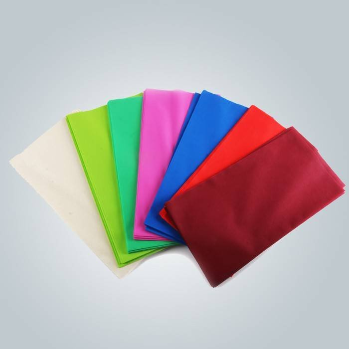 50gsm disposable tnt tablecloth in colours