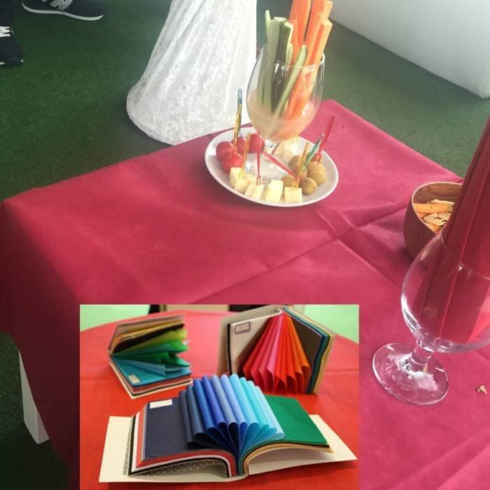 Ourdorr party use non woven table cloth