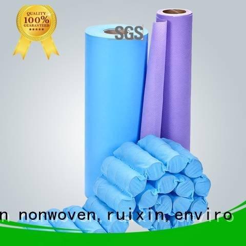 rayson nonwoven,ruixin,enviro cover printed as meltblown nonwoven cut