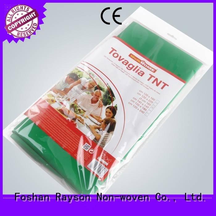 non woven cloth size non woven tablecloth rayson nonwoven,ruixin,enviro Brand