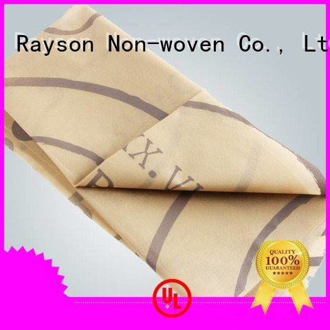 rayson nonwoven,ruixin,enviro certificate folded printed table covers the price