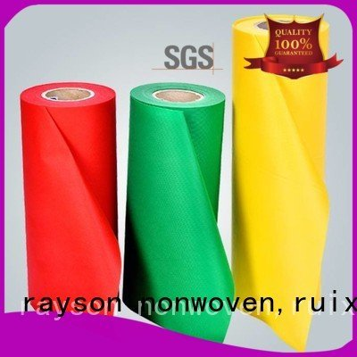 rayson nonwoven,ruixin,enviro spunbond nonwoven fabric wiping many hydrophilic 45