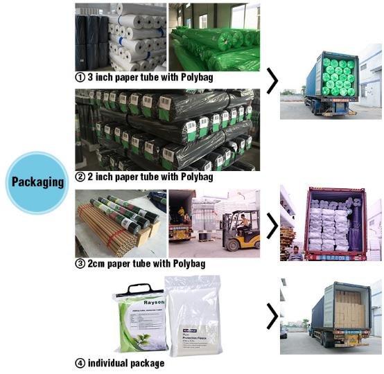 Hot biodegradable landscape fabric recyclable rayson nonwoven,ruixin,enviro Brand