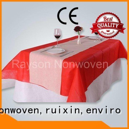 polypropylene non woven cloth thickness different rayson nonwoven,ruixin,enviro Brand
