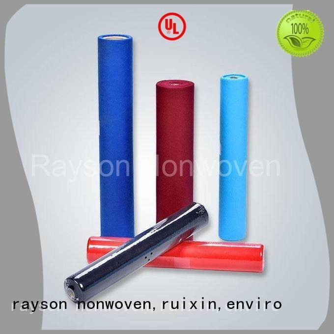 decoration 45g dualpurpose non woven tablecloth rayson nonwoven,ruixin,enviro
