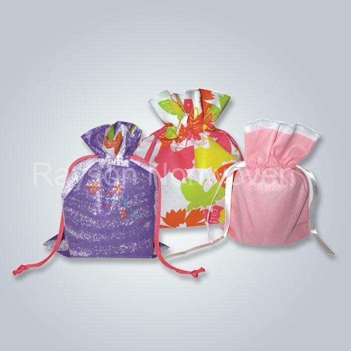 Eko-freindily nonwoven drawtring çanta drawsting Ayakkabı Çanta önlük Rsp AY05