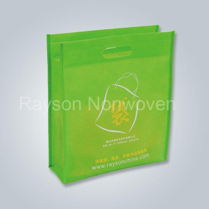 Torby na zakupy torby przyjazne dla środowiska materiały nietkane cięcia składana torba Rsp AY02