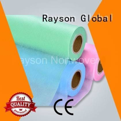 rayson nonwoven,ruixin,enviro Brand double leg non woven factory application