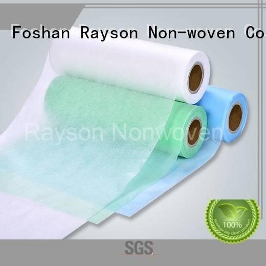 rayson nonwoven,ruixin,enviro Brand professional permeability non woven fabric wholesale manufacture