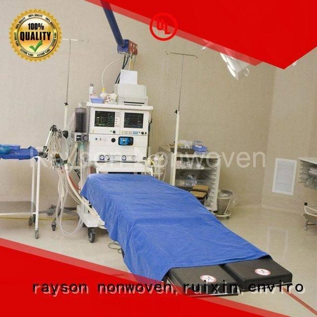 non woven factory 10150gsm gsm rayson nonwoven,ruixin,enviro Brand non woven fabric wholesale