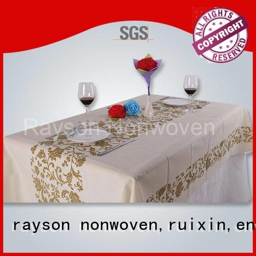 rayson nonwoven,ruixin,enviro Brand ourdorr non woven cloth bacterial supplier