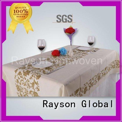 many spun resistant rayson nonwoven,ruixin,enviro Brand non woven tablecloth supplier