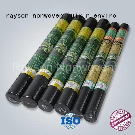 Custom biodegradable landscape fabric agriculture black with rayson nonwoven,ruixin,enviro