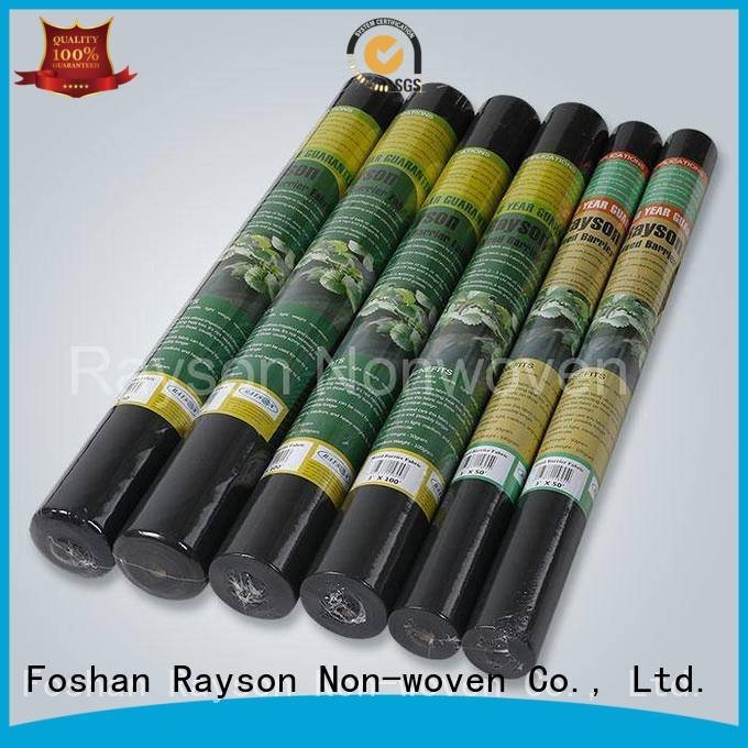 nice black weed control landscape fabric rayson nonwoven,ruixin,enviro manufacture
