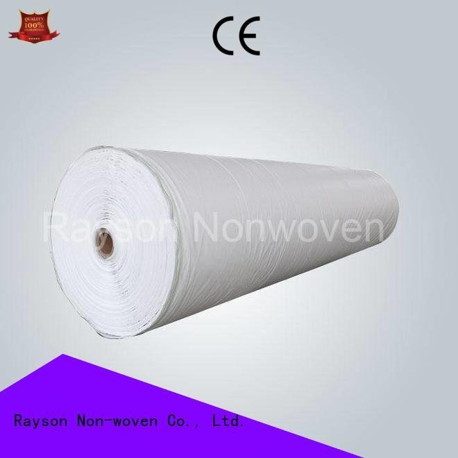 rayson nonwoven,ruixin,enviro Brand row roll weed control landscape fabric wholesale crop