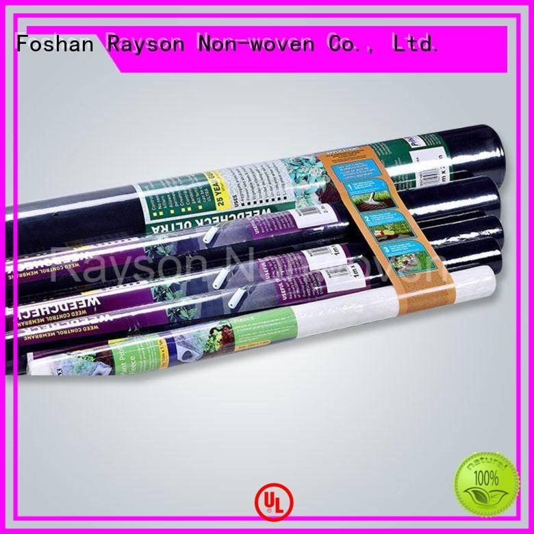 weed control landscape fabric 100pp biodegradable landscape fabric rayson nonwoven,ruixin,enviro Brand