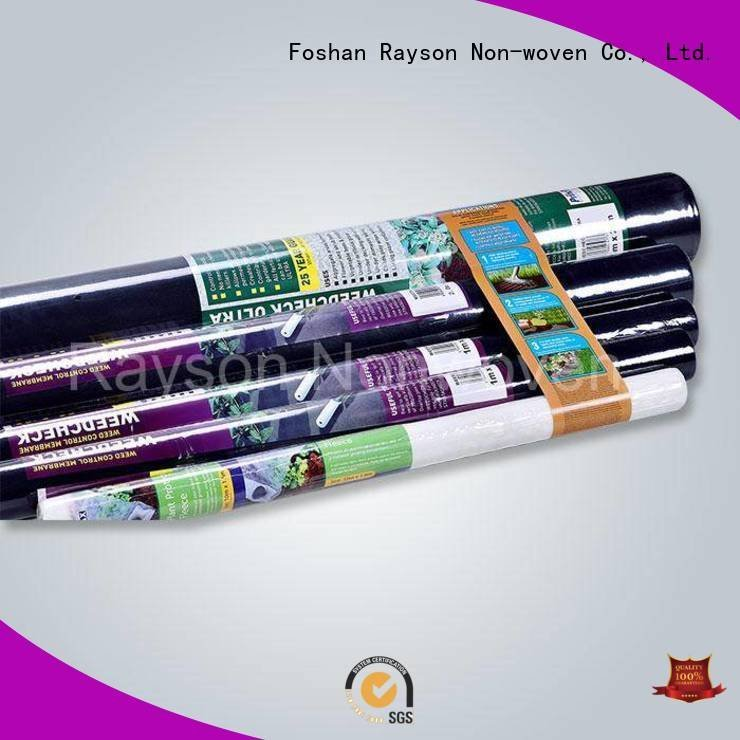 weed control landscape fabric new biodegradable landscape fabric rayson nonwoven,ruixin,enviro