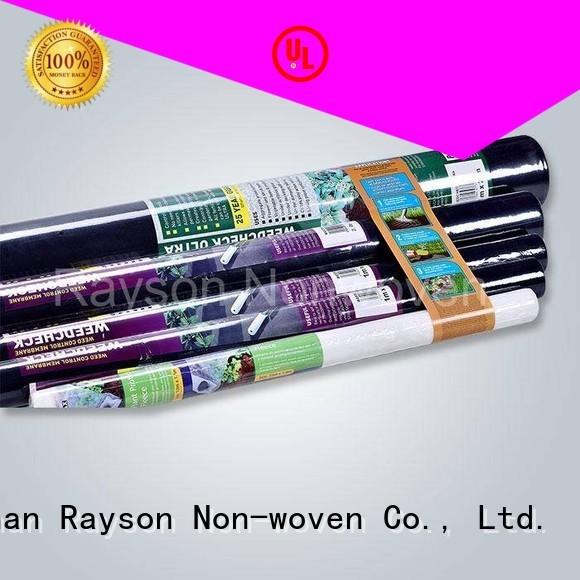 rayson nonwoven,ruixin,enviro Brand protecion aging weed control landscape fabric increased