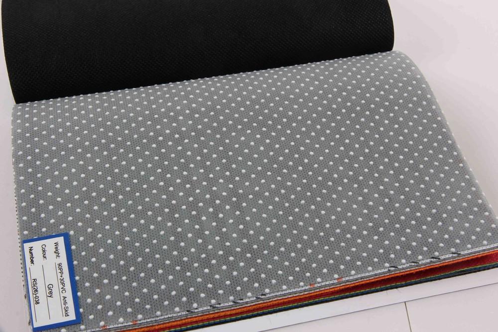 グレーとベージュ アンチ スリップ家具で使用される不織布広域