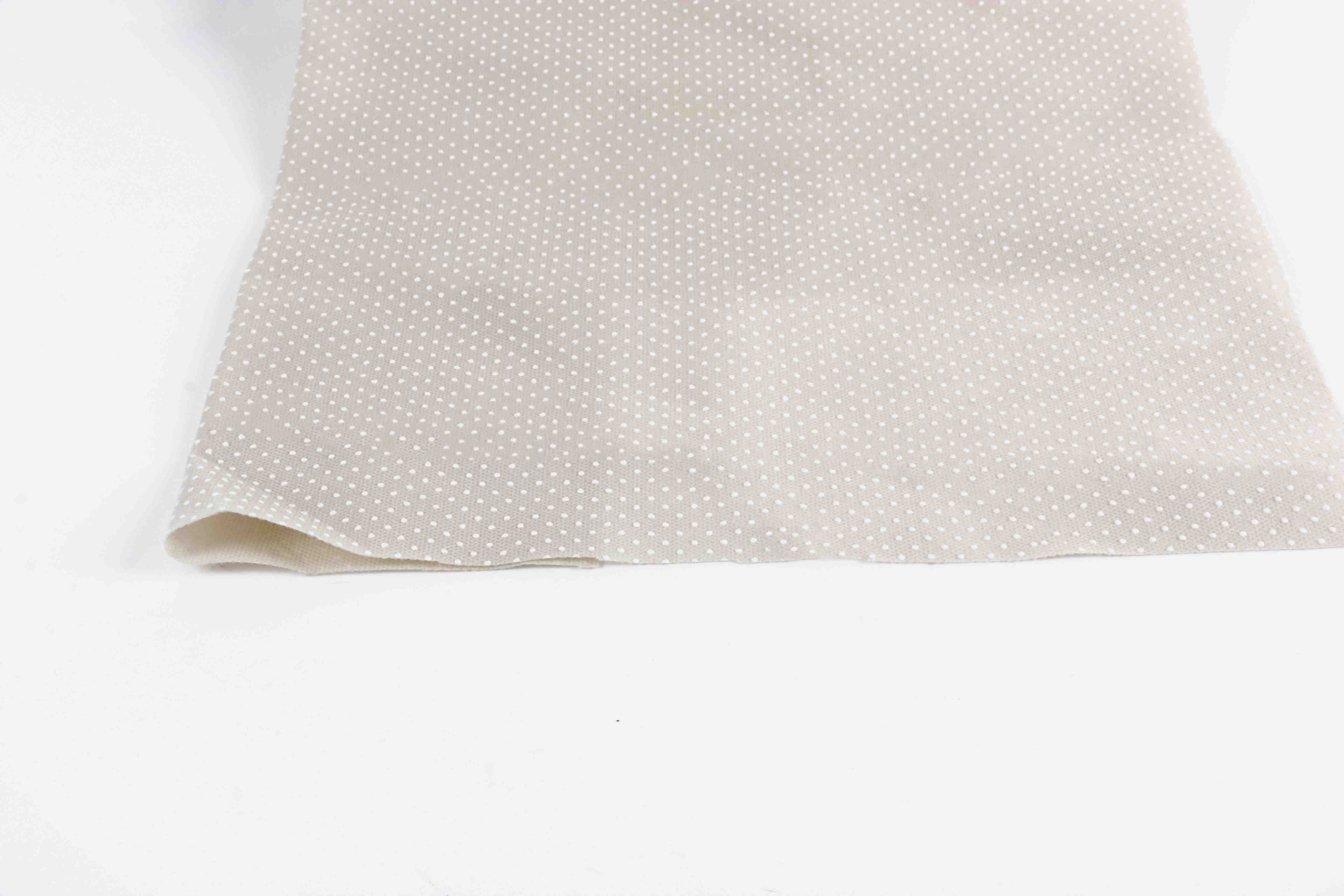 Grey and beige anti slip nonwoven fabric widly used in furniture