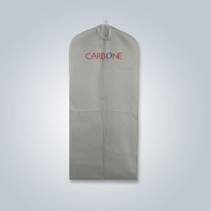 使い捨て可能な環境に優しい 100% ポリプロピレン不織スーツ カバー ファッション スタイル