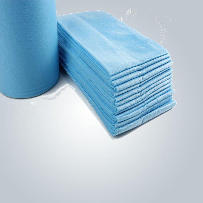 Disposable Spa Bedsheet PP Spunbond Nonwoven Fabric For Beauty Salon