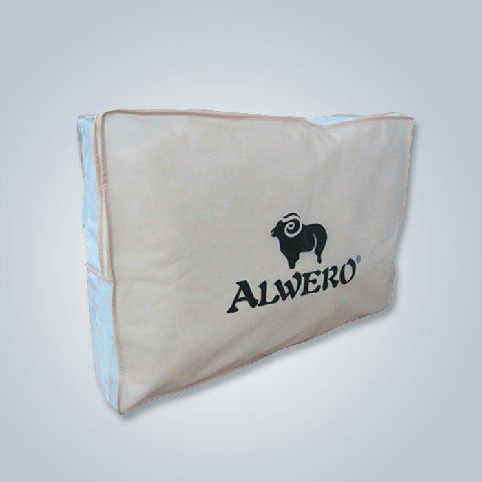 Umweltfreundliche wiederverwendbare 70gsm nicht gesponnene Kissen-Abdeckung mit Logo