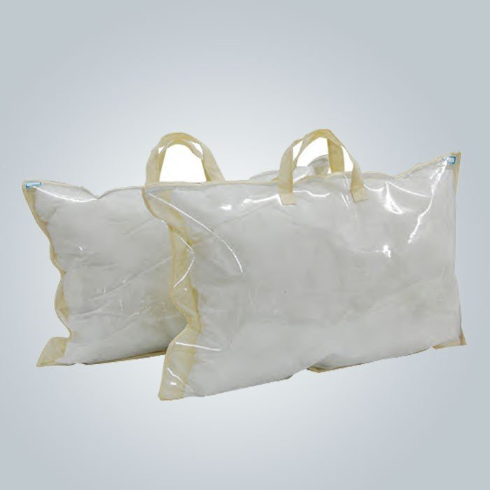 Eco-friendly Reusable 70gsm Non Woven Pillow Cover With Logo