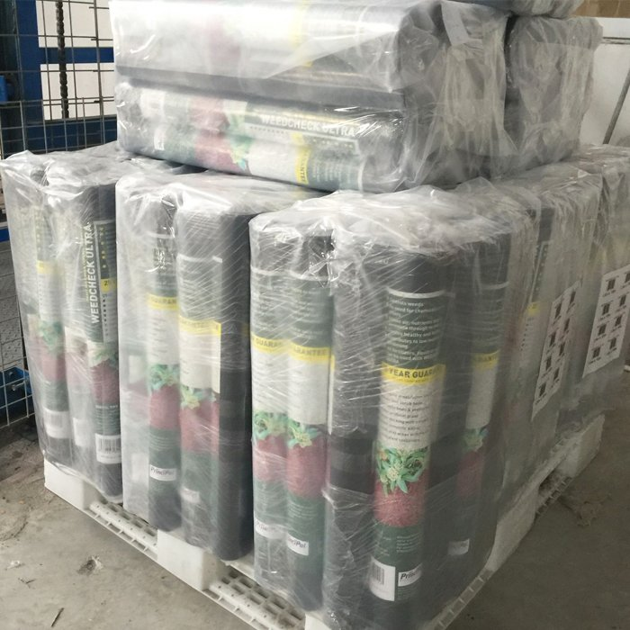 3 x 50ft 10 year polypropylene weed barrier fabric 50gram