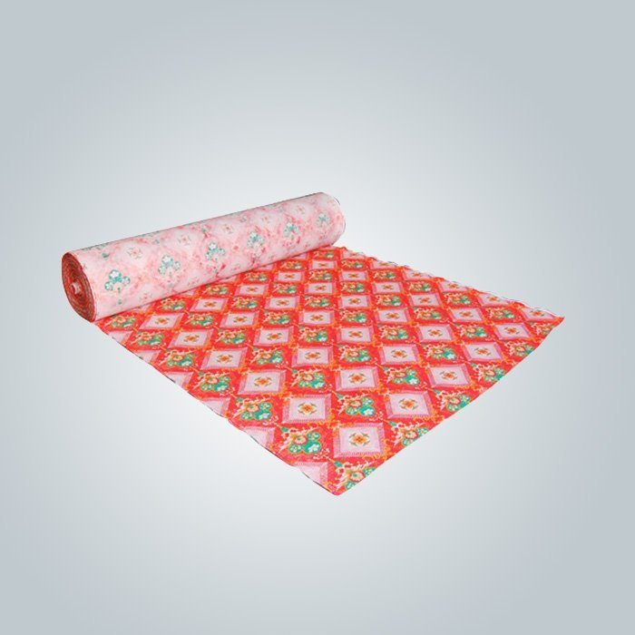 70gr PP spunbond printed non woven fabric for mattress cover