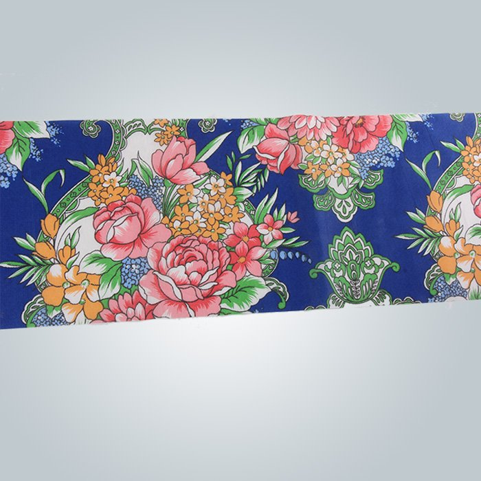 90gram printed pp spunbond nonwoven fabric  manufacture mattress cover
