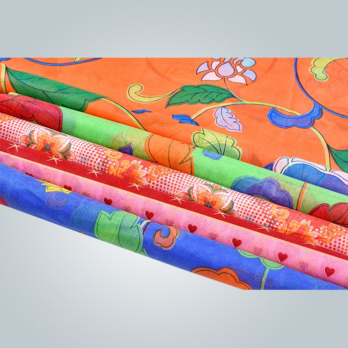 kinds of printed  polypropylene non woven fabric used in mattress cover