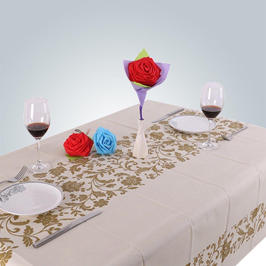 Für Party Einweg-Vlies Tischdecke