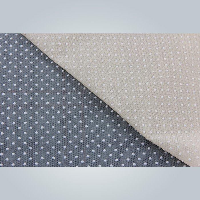 120ram black  and grey  color anti slip non woven for mattress cover