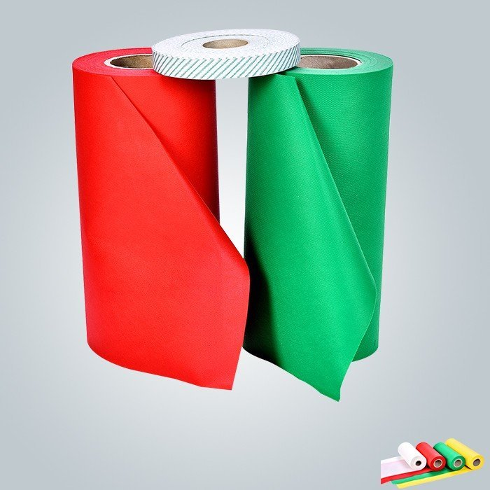 Pp spunbond nonwoven packing in small roll for grand cover or table clothes