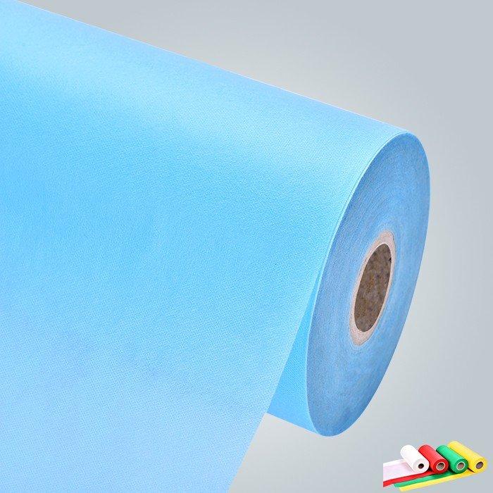PP Spunbond Vliesstoff Verpackung in kleinen Rollen für große Abdeckung oder Tabelle Kleidung