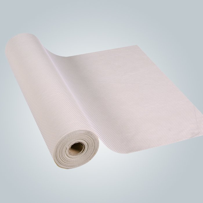 Mattress backing spunbond non slip non woven fabric PVC coated