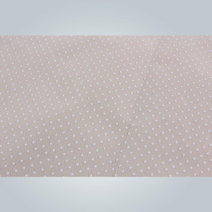 マットレス不織布スパンボンド滑り止め以外にバックアップ ファブリック PVC コーティング