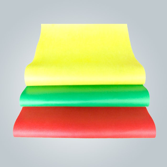 Packing in roll nonwoven fabric and pp spunbond is normally
